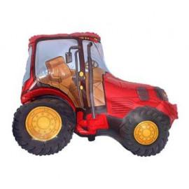 Balón foliový 60 cm  Traktor červený