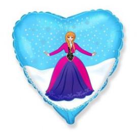 Balón folióvý 45 cm - Královna ledu ALEXIE