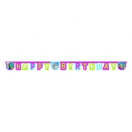Banner - girlanda Frozen - Ledové království HAPPY Birthday 2,15m