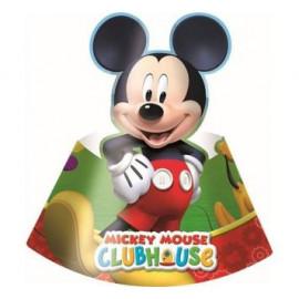 Kloboučky Mickey 6 ks