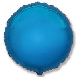 Balón foliový 45 cm Kulatý  modrý