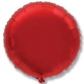 Balón foliový 45 cm Kulatý  červený