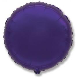 Balón foliový 45 cm Kulatý  fialový