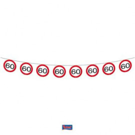 Girlanda dopravní značka 60, 12m