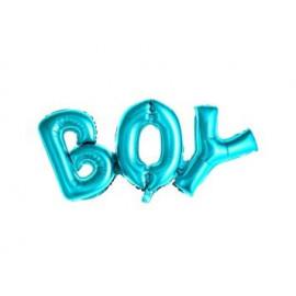 Balón foliový Boy, 67x29cm, MODRÝ (NELZE PLNIT HELIEM)