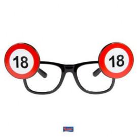 Brýle dopravní značka 18
