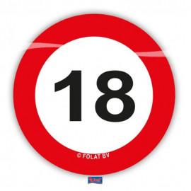 Konfety na stůl XL Dopravní značka 18 /48