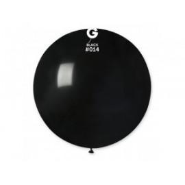 Balón latex 80 cm - černý 1 ks
