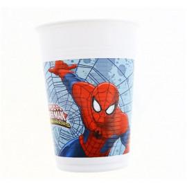 """Plastový kelímek - """" Ultimate SPIDERMAN """", 8 ks"""