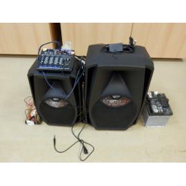 Pronájem zvukové aparatury