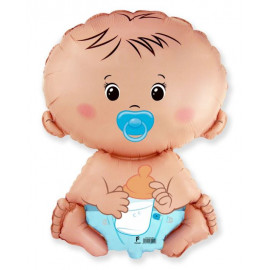 Balón foliový Miminko - kluk 60 cm
