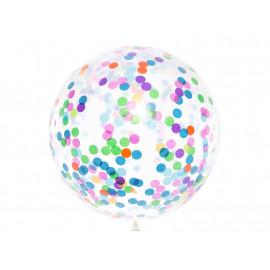Párty balón s konfetami, 1m