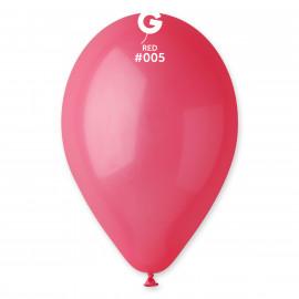 Balonky 1ks červené 26cm pastelové