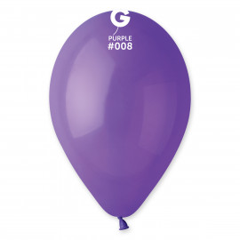 Balonky 1ks fialové 26cm pastelové