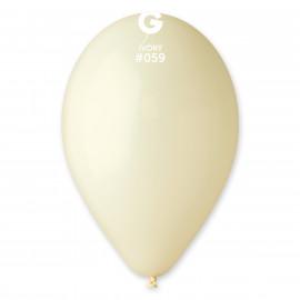 Balonky 1ks slonová kost 26cm pastelové