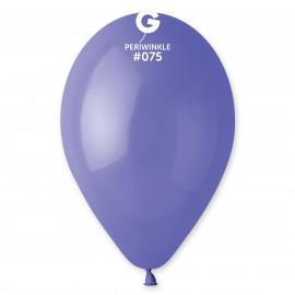 Balonky 100ks modré Periwinkle 26cm pastelové