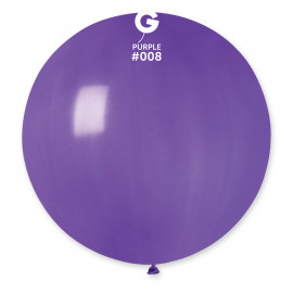 Balon latex 80cm - fialový 1ks