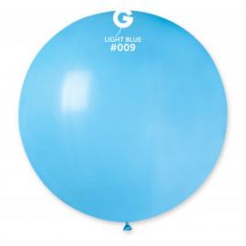 Balon latex 80cm - světle modrý 1ks