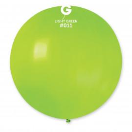 Balon latex 80cm - světle zelený 1ks