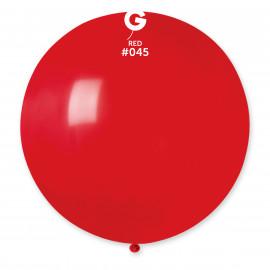 Balon latex 80cm - červený 1ks