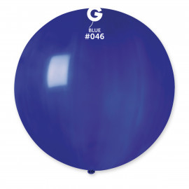 Balon latex 80cm - modrý 1ks