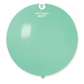 Balon latex 80cm - zelený mátový 1ks
