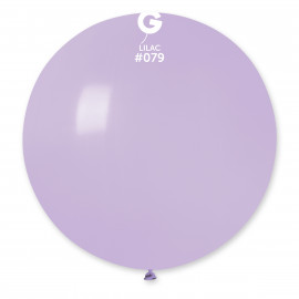 Balon latex 80cm - liliový 1ks