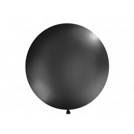 Balon latex 100cm - černý pastelový