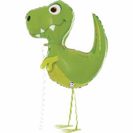 Balonek foliový Chodící dinosaurus 94cm
