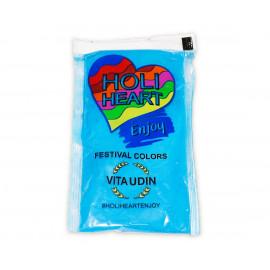 Festivalový prášek Holi Heart BLUE, 120g,1ks
