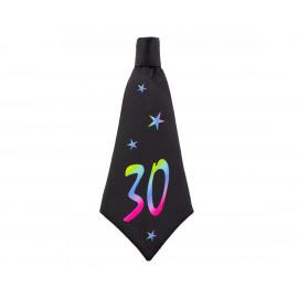 Narozeninová kravata 30, 42x18cm,1ks