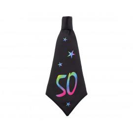 Narozeninová kravata 50, 42x18cm,1ks