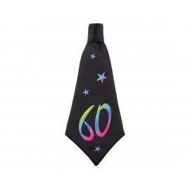 Narozeninová kravata 60, 42x18cm,1ks