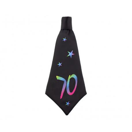 Narozeninová kravata 70, 42x18cm,1ks
