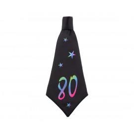 Narozeninová kravata 80, 42x18cm,1ks