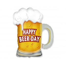 Balon foliový Happy Beer Day 63cm 1ks
