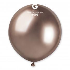 Balonek chromovaný 1ks Rose Gold 48cm