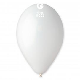 Balonky 1ks bílé 26 cm pastelové