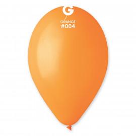 Balonky 1ks oranžové 26 cm pastelové