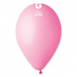 Balonky 1ks světle růžové 26 cm pastelové