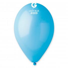 Balonky 1ks světle modré 26 cm pastelové