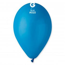 Balonky 1 ks modré  26 cm pastelové