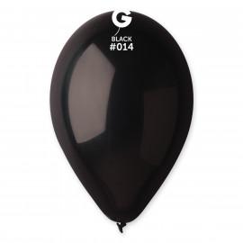 Balonky 1ks černé 26 cm pastelové