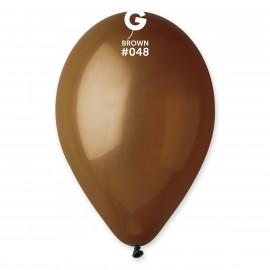 Balonky 1ks hnědé 26 cm pastelové