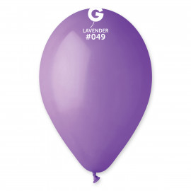 Balonky 1ks fialové 26 cm pastelové