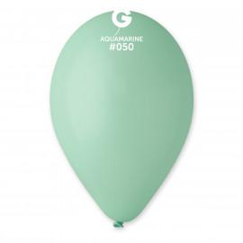 Balonky 1ks azurové 26 cm pastelové