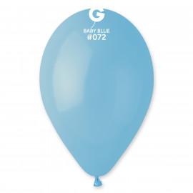Balonky 1 ks baby modré 26 cm pastelové