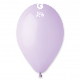 Balonky 1ks liliové 26 cm pastelové