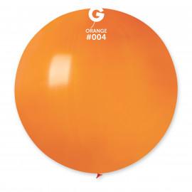 Balon latex 80 cm - oranžový 1 ks