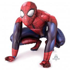 Balon foliový Spiderman chodící, 91x91cm